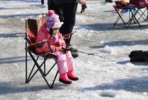 เทศกาลตกปลาน้ำแข็ง Sancheoneo (Moutain trout) Ice Festival (얼음나라 화천 산천어축제)