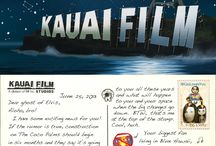 Postcards to Elvis / Postcards to the Ghost of Elvis living in Bungalow 56 at The Coco Palms in Kauai, Hawaii