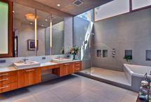 bathrooms / by Adriane Cody