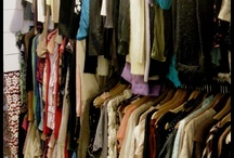 What's in my closets. / Things that are in my closets.