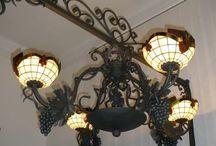 Mennyezeti tiffany lámpa csillár / Mennyezeti tiffany lámpa csillár  http://hu.sooscsilla.com/tiffany-technika-lampak/ http://hu.sooscsilla.com/portfolio/mennyezeti-tiffany-lampa-csillar-olomuveg/