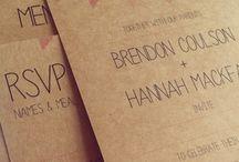 Custom Designed Wedding Invites