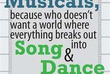Singing and dancing :-)