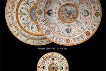 MAIOLICA / copy of italian renaissance ceramica