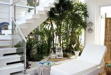 jardin inside
