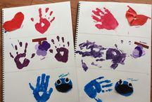 Color theme activities / Great activities for color theme! It's a fun way for kids to learn the colors and what colors are made by mixing them :) great for all ages depending on how u prep them!