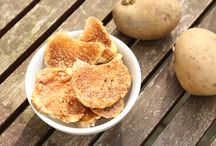 Τσιπς πατάτας στο φούρνο / Σπιτικά υγιεινά τσιπς πατάτας!