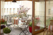 Inspirations pour balcons et terrasses - Printemps 2015