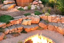 Outdoor Spaces / Ways to make pretty spaces outdoors.