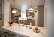 MAD ABOUT MARBLE / Check out some of AMAZING marble kitchens !