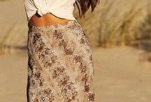 Boho chic - style - fashion