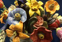 flores ceramica