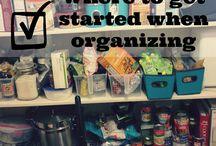 Organization / by Kim Hacker