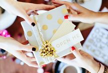 Gift Wrap Inspiration ♥ / beautiful, unique and pretty gift wrap ideas, inspiration and design.