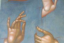 Handen en voeten geven