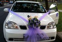 Adorno auto para boda