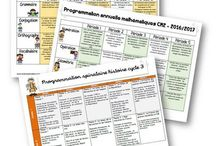 programmations annuelles Cycle 3
