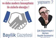 BayilikGazetesi.com / Türkiye'nin en büyük sektörel gazetesi 10.yılında yenileniyor..  BayilikGazetesi.com.tr çok yakında yeni konsepti ile sizlerle olacak..  http://www.BayilikGazetesi.com/yeni