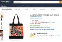 Amazon Shopping / #‎coloursofmylife‬ ‪#‎colorfulbags‬ ‪#‎printsareforever‬ #AmazonFashion #AmazonShopping