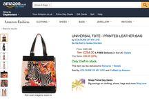 Amazon Shopping / #coloursofmylife #colorfulbags #printsareforever #AmazonFashion #AmazonShopping