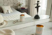 Chambre / Inspiration bedroom, chambre à coucher, lit, détente, linge de lit, cocooning, rêves, nuits ...