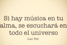 música! ♥ frases hermosas!!