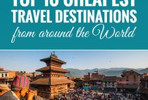 Travel more / travel destination, travelling tips, travel plans, etc.
