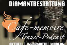 Trauer - Podcast / Der Trauerpodcast des •CAFE-MEMOIRE•  Aktuell, informativ und modern beleuchten wir  unterschiedliche Trauerthemen und kreieren daraus einen pietätvollen Hörbeitrag für Interessierte, Trauernde und Angehörige.  Themenvorschläge nehmen wir gerne an und versuchen diese Umzusetzen.  Wir wünschen viel Spaß beim Anhören  #trauer #trauerpodcast #podcast #trauerthemen #abschied