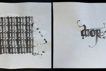 Calligraphy / Handmade type is cool...
