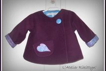 RIKITTYN'  créations pour bébé et enfants / Mes créations couture et tricot pour les bébés. Retrouvez moi aussi sur mon blog : http://www.latelier-rikittyn.com/
