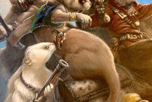 RPG Inspiration Weasel Folk