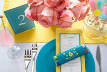 Sweet Weddings / Planning a wedding, bridal shower or invited to a nuptial soirée? We're in love with these fun gift, decoration and favor ideas for the perfect marriage of candy-meets-color!
