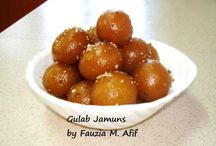 Sweets and Delicacies / by Safiya AJ