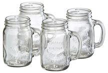 Jars, Mugs and glasses