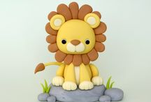 Polymer Clay lion