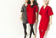 Fashion dolls / Модные куклы и стильная для них