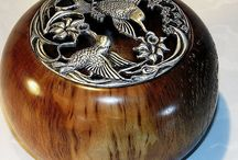 My Potpourri Bowls / This Board is a selection of my wood art that can be found at http://www.australianrescuedtimbers.com/