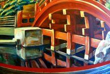 Artystyczne malowanie wnętrz, ścian, murale itp.