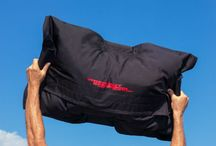 Workout Sandbags / Workout Sandbags are made of tougher ballistic nylon and have an ergonomic giant beanbag design for better grip and shifting sand effect for your functional fitness training. http://www.workoutsandbags.com/
