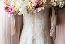 Wedding Bouquets / A bride's wedding bouquet truly speaks to her style. Her favorite flowers, colors and style all get included in this stunning wedding accessory.