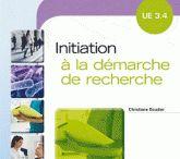 UE 3.4 Initiation à la démarche de recherche / Découvrez les livres du Centre de documentation concernant l'UE 3.4.
