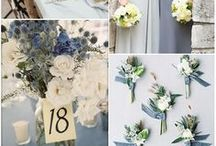 blue/navy wedding