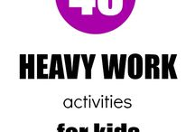 Heavy Work Ideas