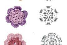 Fleurs Au Crochet Tuto