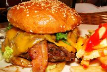 Burgers, Steaks, BBQ = you want it! / Delicious food, maybe unhealthy, but we love it!