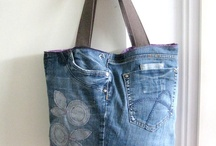 Recycled jeans.
