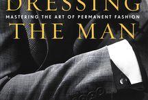 dressing a man