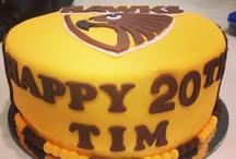 Hawks cakes