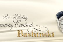 Bashinski Giveaway Contest / Bashinski Pre-Holiday Giveaway Contest on the Bashinski Facebook page: https://www.facebook.com/Bashinski-Fine-Gems-Jewelry-158611624173801/