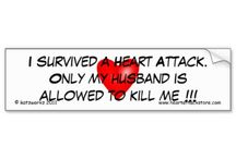CVD - Heart Attack - Diabetes (CHAD) Awareness created with ZAZZLE / Educating & making others aware about CVD, Heart Attacks and Diabetes with promotional aids.  In July, 2007 I had a massive heart attack including cardiac arrests & 29 cardioversions, three stents to the right coronary artery which was 100% blocked and then a few days later a triple bypass for blockages on the left side.  I did not have any of the classic symptoms when I had my heart attack - I HAD VIRTUALLY NO PAIN. Have now created items to help me promote Heart Attack and Diabetes Awareness.